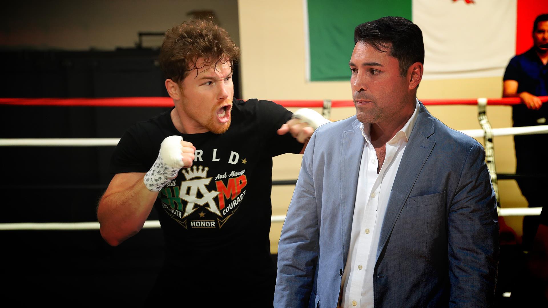 Canelo Álvarez & Oscar De La Hoya (Golden Boy Promotions)
