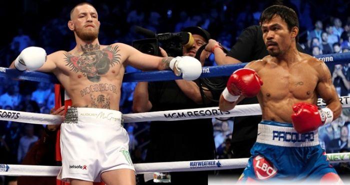 Conor McGregor & Manny Pacquiao (Foto Cortesía)