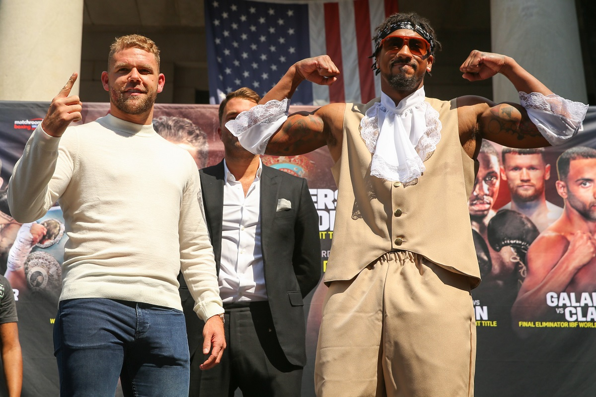 Billy Joe Saunders & Demetrius Andrade (Matchroom Boxing)