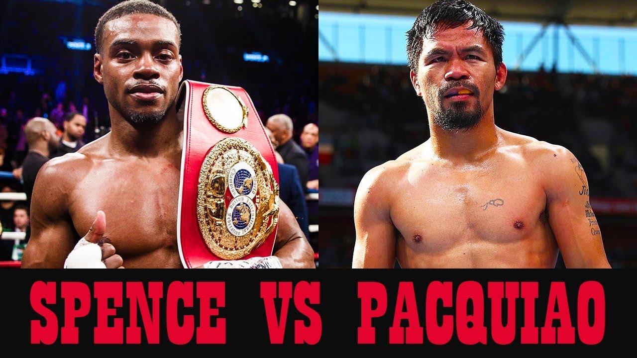 Errol Spence & Manny Pacquiao (Foto Cortesía)