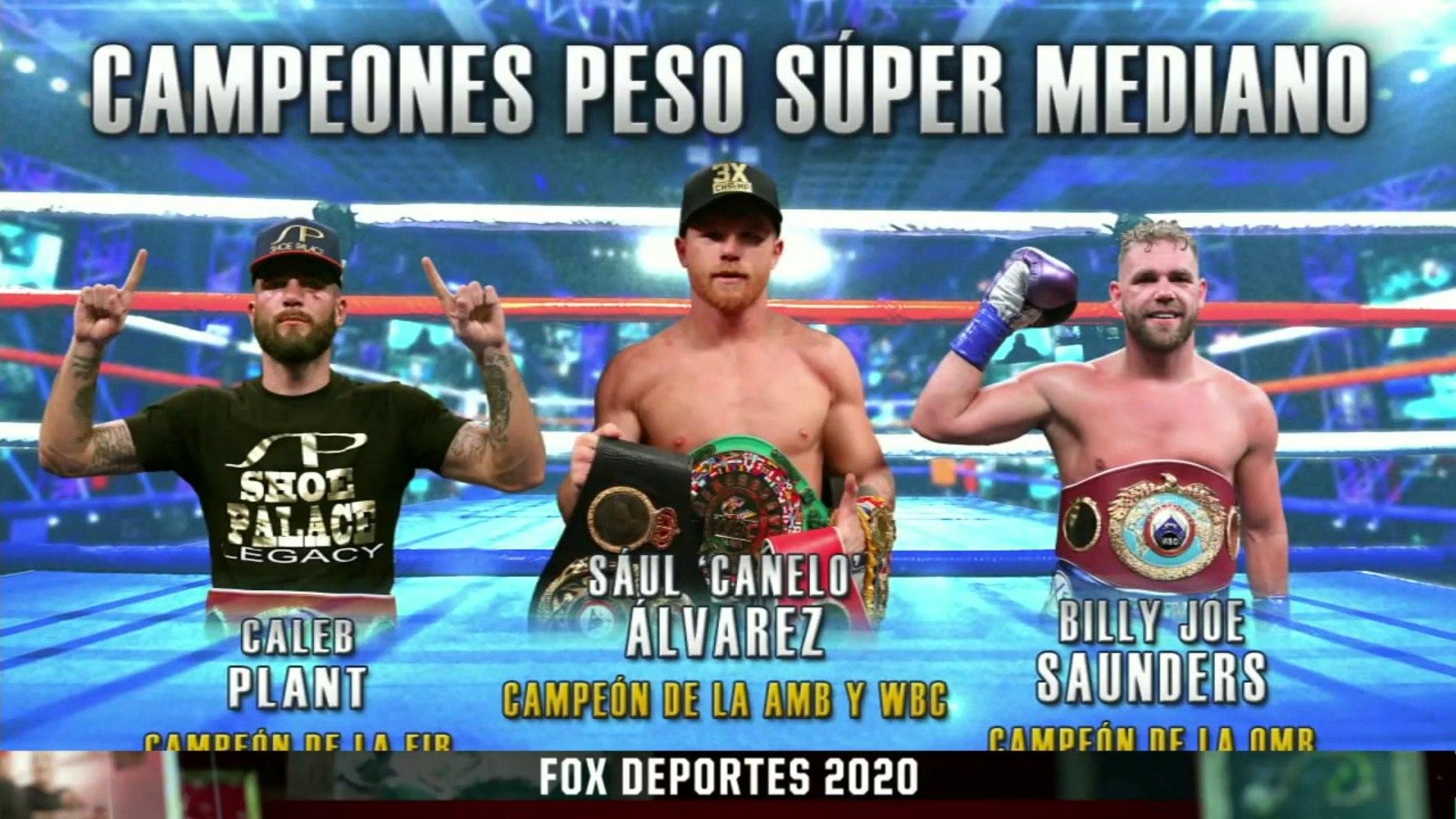 Caleb Plant, Canelo Álvarez & Billy Joe Saunders